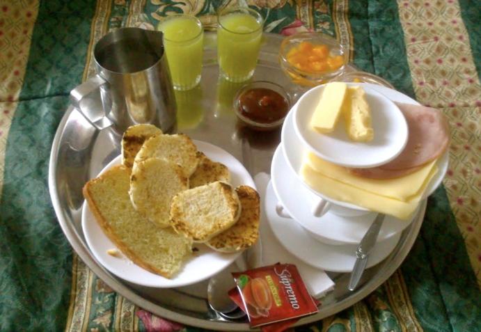 śniadanie Chile