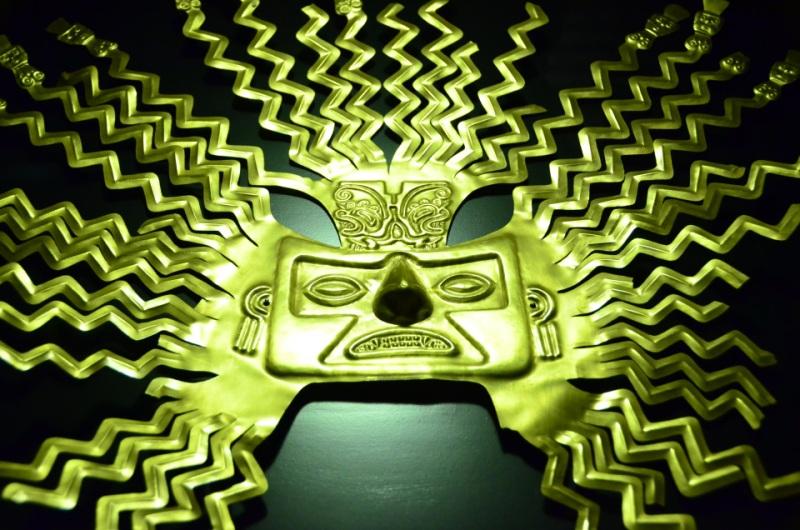 atrakcje Ameryki Łacińskiej - maska slonca